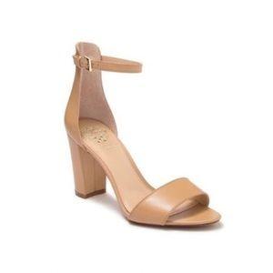 Vince Camuto | Carolina Leather Block Heel Sandal
